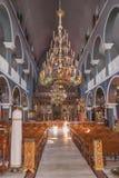 Kathedraal van Retimno stock afbeeldingen
