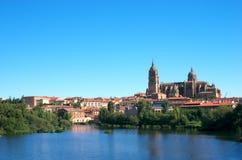 Kathedraal van Salamanca Stock Foto