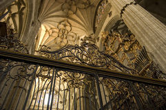 Kathedraal van Salamanca. Spanje Stock Foto's