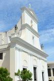 Kathedraal van San Juan Bautista, San Juan, Puerto Rico stock fotografie