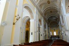 Kathedraal van San Juan Bautista, San Juan, Puerto Rico Royalty-vrije Stock Foto's