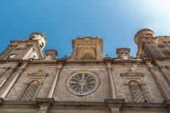 Kathedraal van Santa Ana Stock Afbeeldingen