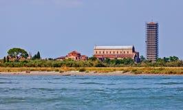 Kathedraal van Santa Maria Assunta op Torcello, Italië Royalty-vrije Stock Foto's