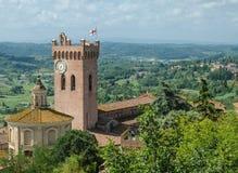 Kathedraal van Santa Maria Assunta, San Miniato (tus Royalty-vrije Stock Afbeelding