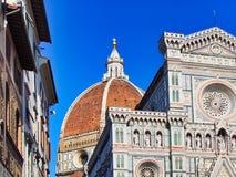 Kathedraal van Santa Maria del Fiore, Florence, Toscanië, Italië stock fotografie