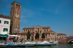 Kathedraal van Santa Maria e San Donato in Murano Stock Afbeeldingen