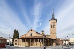 Kathedraal van Santa Maria in Guadalajara, Spanje Royalty-vrije Stock Foto's