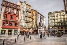 Kathedraal van Santiago, Bilbao Royalty-vrije Stock Fotografie