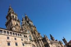 Kathedraal van Santiago DE Compostela Royalty-vrije Stock Foto's