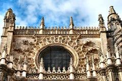 Kathedraal van Sevilla stock fotografie
