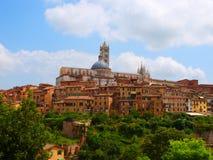 Kathedraal van Siena Stock Fotografie