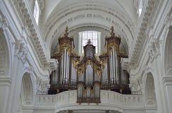 Kathedraal van Solothurn zwitserland Stock Fotografie