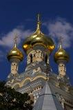 Kathedraal van St. Alexander Nevsky - Yalta Stock Afbeeldingen