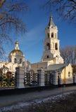 Kathedraal van St. Andrew in Stavropol Royalty-vrije Stock Foto