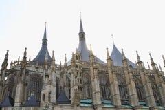 Kathedraal van st Barbara stock foto's