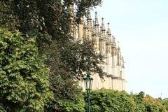 Kathedraal van st Barbara stock foto