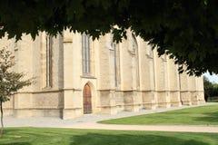 Kathedraal van st Barbara stock afbeeldingen