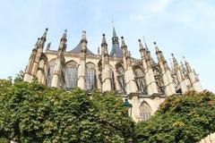 Kathedraal van st Barbara stock fotografie