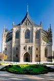 Kathedraal van St. Barbara in Kutna Hora royalty-vrije stock foto