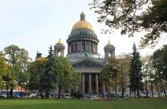 Kathedraal van st. Isaak Stock Foto's