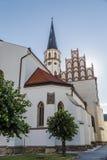 Kathedraal van St Jacob in Levoca Royalty-vrije Stock Afbeelding