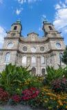 Kathedraal van St James in Innsbruck, Oostenrijk Royalty-vrije Stock Foto's