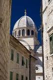 Kathedraal van St. James. Sibenik, Kroatië. royalty-vrije stock foto