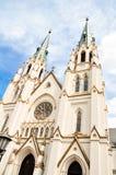 Kathedraal van St. John Doopsgezind in Savanne, Georgië Royalty-vrije Stock Afbeeldingen
