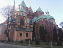 Kathedraal van St John Doopsgezind in Wroclaw, Polen royalty-vrije stock afbeelding