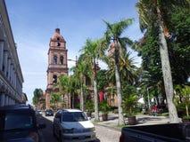 Kathedraal van St Lawrence in Santa Cruz, Bolivië stock afbeeldingen