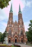 Kathedraal van St Michael de Aartsengel en St Florian de Martelaar, Warshau, Polen stock foto
