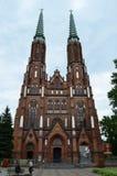 Kathedraal van St Michael de Aartsengel en St Florian de Martelaar Stock Foto's
