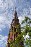 Kathedraal van St Peter en Paul Stock Afbeelding