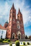Kathedraal van St Peter en St Paul in Djakovo stock afbeeldingen