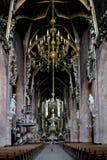 Kathedraal van st StanisÅ 'aw en st WacÅ 'awa in SvÃdnica Stock Foto