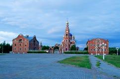 Kathedraal van St Vladimir Novocheboksarsk Stock Afbeelding