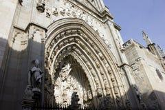 Kathedraal van Toledo Stock Afbeelding
