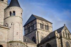 Kathedraal van Trier Stock Afbeeldingen
