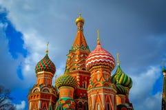 Kathedraal van Vasily Heilig Royalty-vrije Stock Fotografie