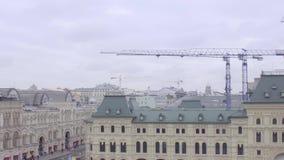 Kathedraal van Vasily Heilig stock videobeelden