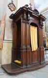 Kathedraal van Vetralla. Lazio. Italië. Stock Fotografie