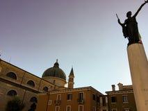 Kathedraal van Villafranca Verona, Italië royalty-vrije stock fotografie