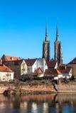 Kathedraal van Wroclaw royalty-vrije stock fotografie