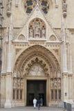 Kathedraal van Zagreb royalty-vrije stock afbeelding