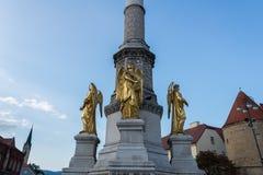 Kathedraal van Zagreb, Kroatië stock fotografie