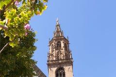 Kathedraal in van Zuid- Bolzano Tirol Italië Stock Foto