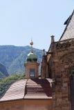 Kathedraal in van Zuid- Bolzano Tirol Italië Royalty-vrije Stock Foto