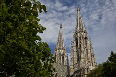 Kathedraal in Wenen Royalty-vrije Stock Afbeeldingen
