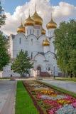 Kathedraal in Yaroslavl Rusland Royalty-vrije Stock Foto's