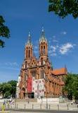 Kathedraalbasiliek van de Veronderstelling van Heilige Maagdelijke Mary Bialystok Royalty-vrije Stock Fotografie